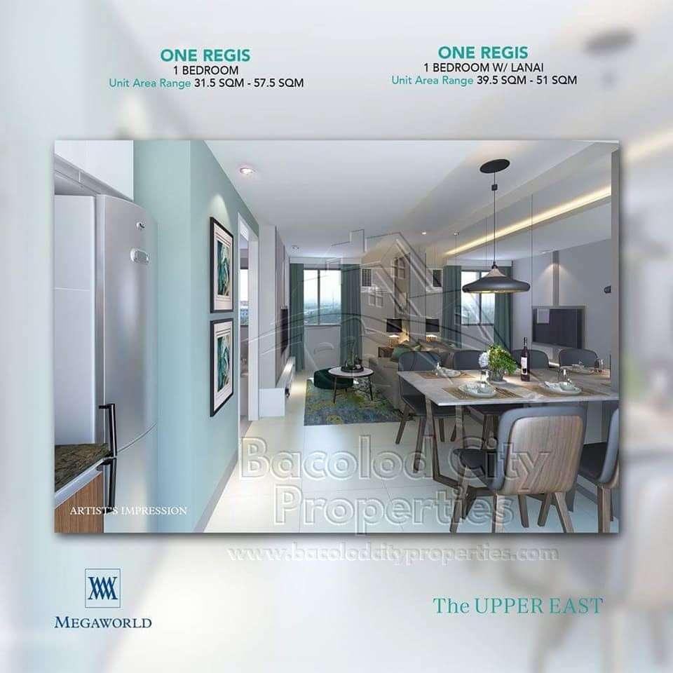 One Regis Units - One Bedroom - Watermark