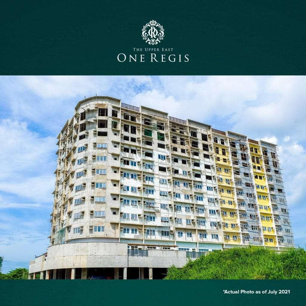 One Regis as of July 2021