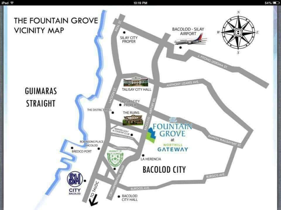 Fountain Grove Map