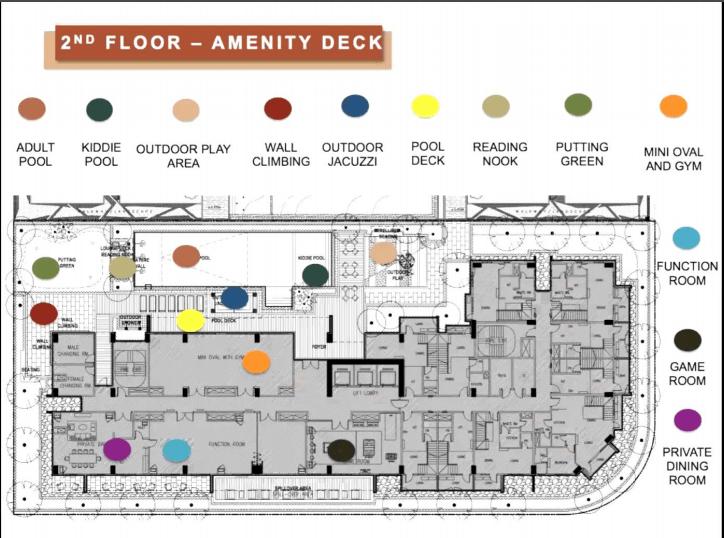 Floor Map One Manhattan