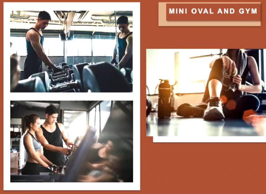 Mini Oval with Gym