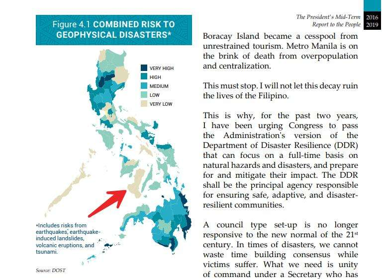 Bacolod NEgros Risk to Natural Disasters